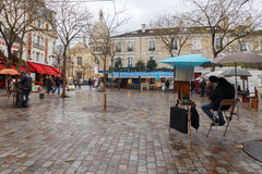 Paris. Montmartre. Royalty Free Stock Photography