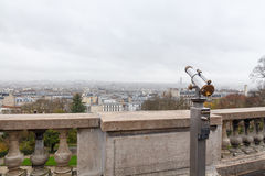 Paris. Montmartre. Royalty Free Stock Photography