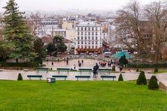 Paris. Montmartre. Royalty Free Stock Photo