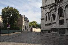 Paris Montmartre scenery Royalty Free Stock Images