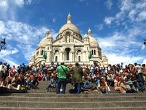 Paris Montmatre Royaltyfri Bild
