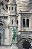 Paris Montmatre Cathedral Royalty Free Stock Images