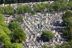 Paris - Montparnasse cemetery Stock Photography