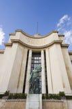 Trocadero Esplanade-Paris Stock Image