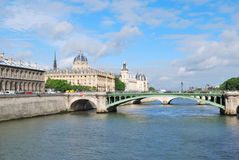 Paris in the morning Royalty Free Stock Image