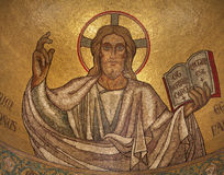 Paris - mosaic of Jesus Stock Photos