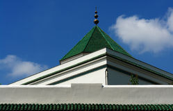 Paris mosque Royalty Free Stock Image