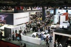 Paris Motor Show 2010 - visitors Stock Photos