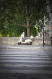 Paris Motorcycle Royalty Free Stock Photography