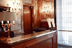 PARIS: Mottagande i slotthotell Arkivfoton