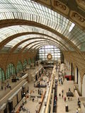 Paris, Musee d'Orsay stockbilder