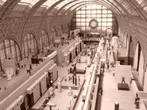 Paris, Musee d'Orsay Stock Images