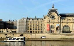 Paris Musee D ` Orsay Royaltyfri Foto