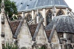 Paris Museen Medborgare Du Moyen-Ålder-Thermes de Cluny fotografering för bildbyråer