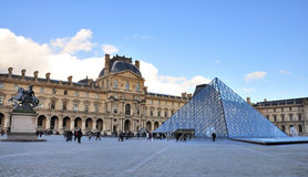 Paris - museu do Louvre Imagem de Stock