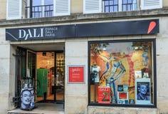 Paris museum av Salvador Dali på 11 Rue Poulbot, Paris Arkivbild