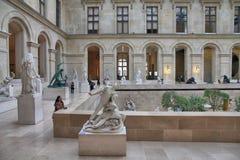 Paris museumbesök Royaltyfri Fotografi