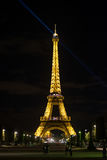 Paris na noite 2 Foto de Stock Royalty Free