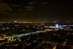 Paris na noite 3 imagem de stock royalty free