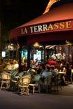 Paris na noite 4 imagens de stock royalty free