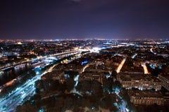 Paris-Nacht Lizenzfreie Stockfotografie