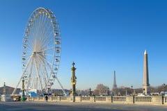 Paris najwyższych punktów Zdjęcia Royalty Free