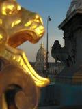 Paris- - Napoleon's-Grab von Alexander III.-Brücke Stockfoto