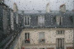 Paris nas gotas Fotos de Stock Royalty Free