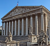 Paris - National Assembly Royalty Free Stock Photo