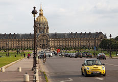 Paris-The National Residence of the Invalids Royalty Free Stock Image