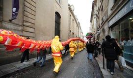 Paris - an neuf chinois 2012 Image libre de droits