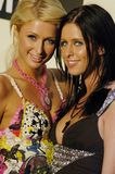 Paris and Nicki Hilton Stock Image