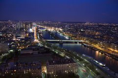 Paris night. This is a picture of Paris in the night Royalty Free Stock Image
