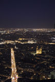 Paris by night Stock Photos