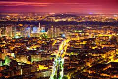 Paris at Night Royalty Free Stock Image