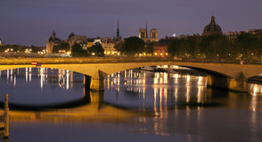 Paris at night Royalty Free Stock Photos