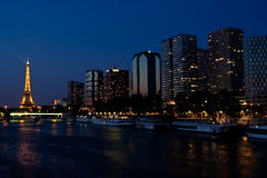 Paris at night Royalty Free Stock Photo