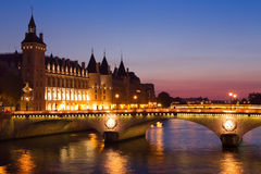 Paris by night Royalty Free Stock Photography