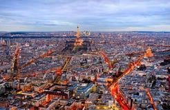 Paris at night. Stock Photos