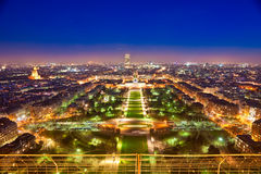 Paris at night. Stock Photo