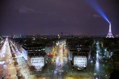 Paris at Night royalty free stock images