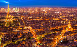 Paris at night. Royalty Free Stock Image