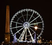Paris in night Royalty Free Stock Photography