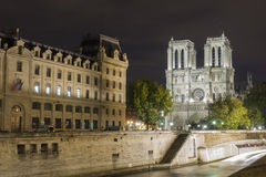Paris at night, France Royalty Free Stock Photography
