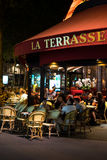 Paris at Night  4 Royalty Free Stock Images