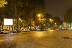 Paris at night Stock Photography