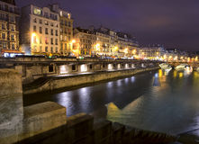 Paris at night Stock Photo