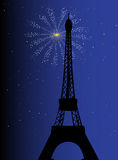Paris Night Royalty Free Stock Photo