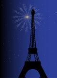 Paris Night Royalty Free Stock Photo