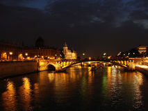 Paris at night2 Royalty Free Stock Photography